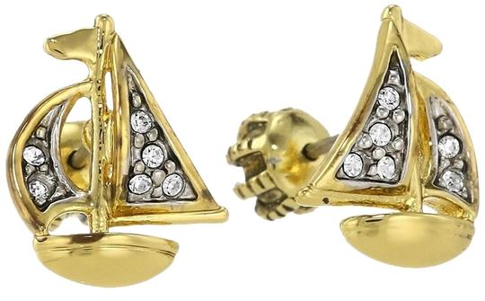 Juicy Couture Juicy Couture 'Set Sail' Pave Sailboat Stud Earrings Yjruoe79 New