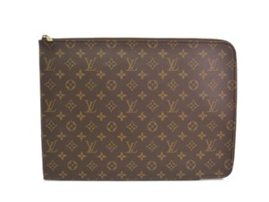 Louis Vuitton Auth LOUIS VUITTON Poche documents Briefcase Monogram M53456 (BF089957)