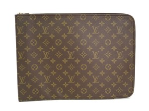 Louis Vuitton Auth LOUIS VUITTON Poche documents Briefcase Monogram M53456 (BF091783)