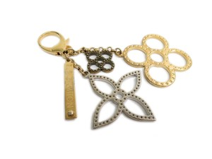 Louis Vuitton Auth Louis Vuitton Bijoux Sac Tapage Key holder Metal Gold/Sil M65090 (BF091834)
