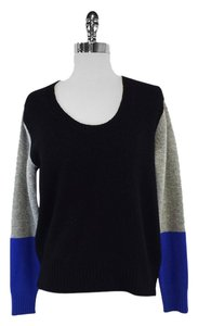 Mason Black Grey Blue Sweater