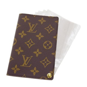 Louis Vuitton Auth LOUIS VUITTON Porte Carte Photos Card Photo Case Monogram M60485 01H258