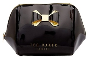Ted Baker Ted Baker LARGE Trapeze Glitter Bow WASH BAG / COSMETIC CASE