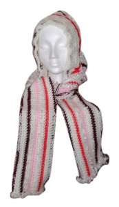 handmade & designed by me New, never warn, ladies hood with attached scarf