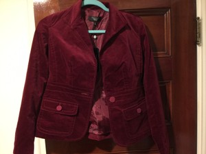 Talbots Deep red Blazer