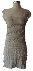 Max Studio short dress Beige on Tradesy