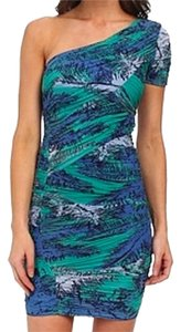 BCBGMAXAZRIA Mia Ruched Dress