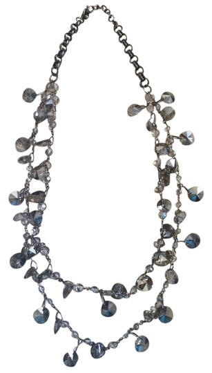 Preload https://item2.tradesy.com/images/gray-beaded-necklace-1128566-0-0.jpg?width=440&height=440