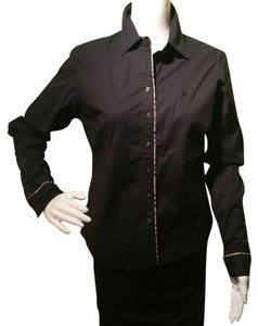 Burberry Button Down Shirt Blac