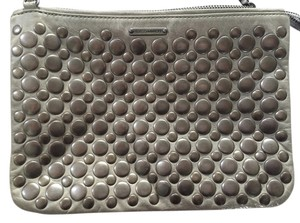 Rebecca Minkoff Studded Silver Cross Body Bag