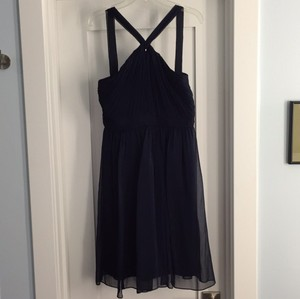 J.Crew Navy Traditional Bridesmaid/Mob Dress Size 2 (XS)
