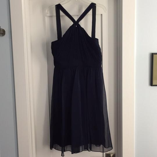 J.Crew Navy Traditional Bridesmaid/Mob Dress Size 2 (XS) Image 0