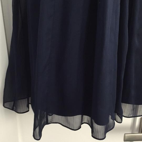 J.Crew Navy Traditional Bridesmaid/Mob Dress Size 2 (XS) Image 2