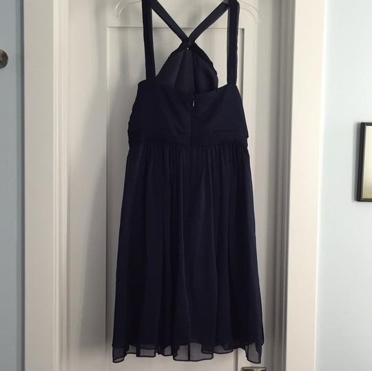 J.Crew Navy Traditional Bridesmaid/Mob Dress Size 2 (XS) Image 3