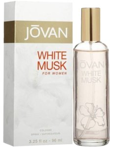 Jovani New in Box JOVAN WHITE MUSK by COTY Perfume 3.25 oz