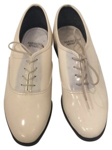 American Apparel Cream Flats