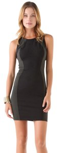 David Lerner Bodycon Party Date Contrast Dress