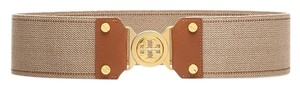 Tory Burch Tory Burch Wide Stretch Interlocking Logo Belt. Size M.