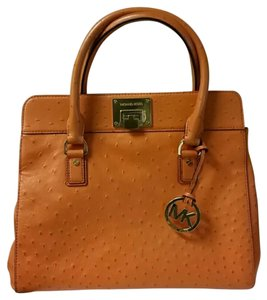 Michael Kors Satchel in Tangerine, orange