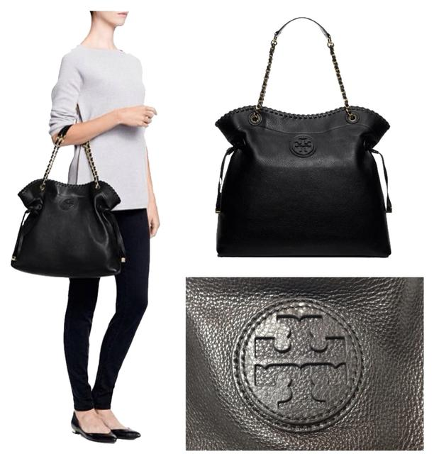 Item - Marion Slouchy Black Leather Tote