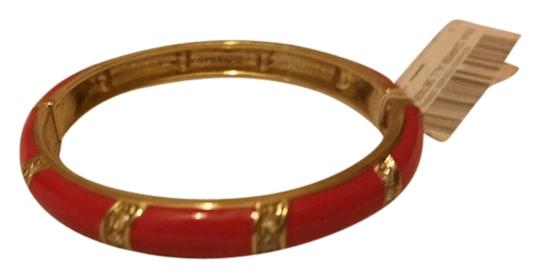 Other Red enamel and gold bracelet