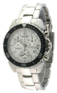 sector Sector 450 Stainless Silver Dial Chronograph Watch New Without Tag Model # 2653940045