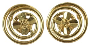 Chanel Clover Earrings CCAV401