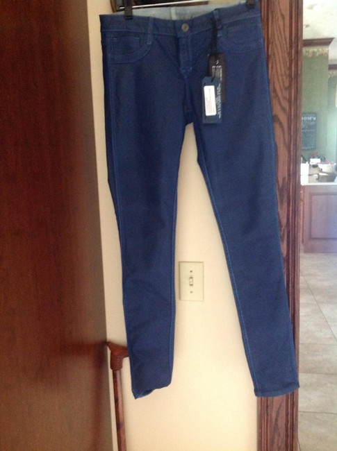 Blue lab Skinny Jeans-Coated