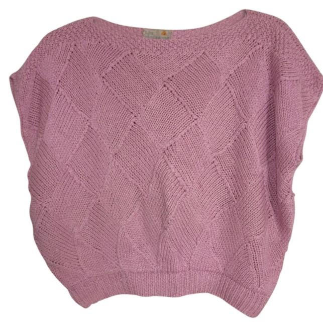 Liz Claiborne Rose Pink Sweater Liz Claiborne Rose Pink Sweater Image 1