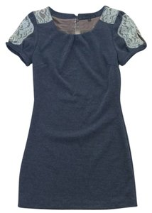Lucca Couture short dress Grey on Tradesy