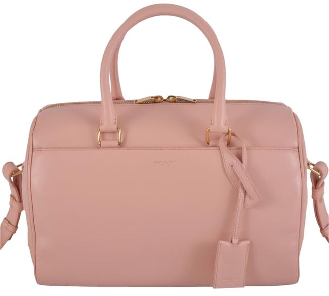 Item - Duffle W New Ysl 150 322049 Blush Classic Purse Satchel W/Strap Pink Leather Messenger Bag
