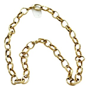 Mr & Mrs Italy Italian Gold Plain Necklace