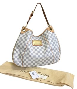 c898002628c Louis Vuitton Galleria Pm In Date Code Sd1049 Made In The Usa Damier Azur  Canvas and Leather Shoulder Bag