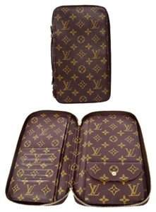Louis Vuitton Auth LOUIS VUITTON Long Zippy Organizer Bifold Wallet Purse Monogram Good Condition