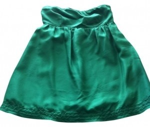 Banana Republic Strapless Top Green
