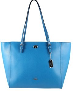 Coach Tote in Peacock Blue