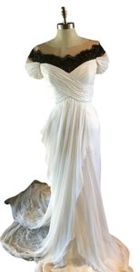 Marchesa Bridal Vintage Victorian Wedding Lace Dress