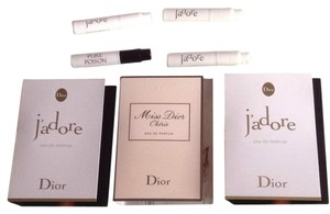 Dior Christian Dior J'adore Pure Poison Miss Cherie Perfume Fragrance Mini Spray Eau De Parfum 7 Ml 0.21 Fl Oz