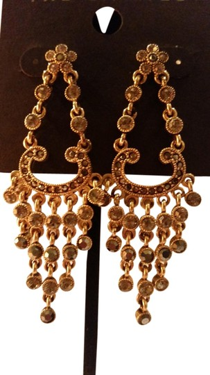 Other Gold chandelier style earrings