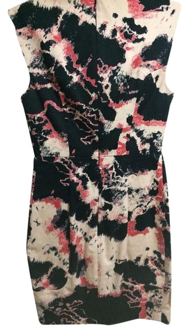 French Connection Abstract Stylish Interview Sheath Dress