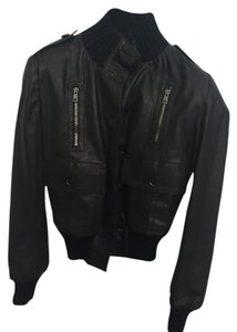 Gucci Leather New Bomber Designer Leather Jacket