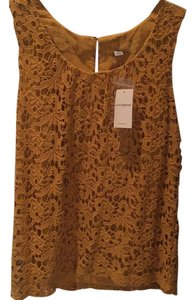 Lucky Brand Top Gold, yellow