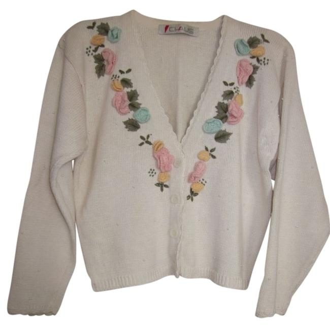 Preload https://item5.tradesy.com/images/chaus-cream-cardigan-size-12-l-112929-0-0.jpg?width=400&height=650