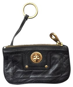 Marc by Marc Jacobs Key Leather Gold Hardware Baguette
