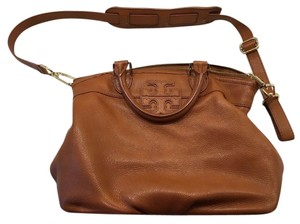 Tory Burch Satchel in Bark Brown