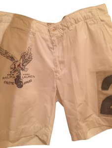 Polo Ralph Lauren Mens New Bermuda Shorts White