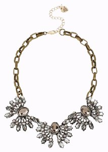 Betsey Johnson Betsey Johnson Whiteout TOC 3 Piece Crystal Frontal Necklace NWT $68