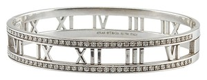 Tiffany & Co. Tiffany & Co. Atlas 18K Diamond Bangle Bracelet (72158)