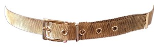 Unknown Gold Colored Chain Link Belt - Large