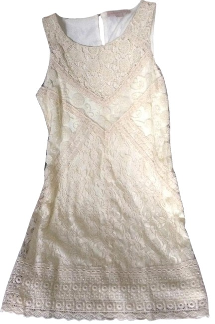 Preload https://item2.tradesy.com/images/ivory-lace-shift-above-knee-short-casual-dress-size-4-s-1129481-0-1.jpg?width=400&height=650